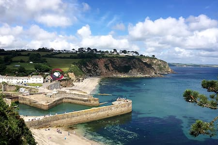 Luxury Beach Front House with Hot Tub & Log Burner - Saint Austell - 独立屋