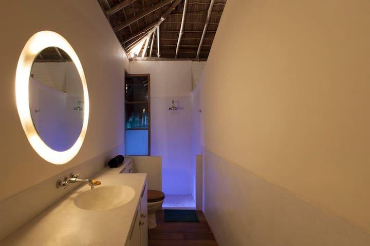 Rambutan Chalet bathroom