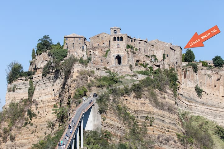 A most spectacular view in Civita  - Bagnoregio