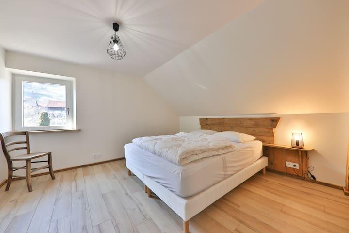 Une belle chambre sous les combles
