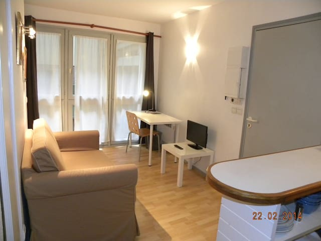 Studio en plein coeur de la ville/ (Phone number hidden by Airbnb) F