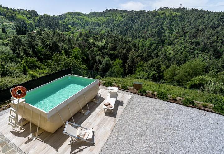 Villa Incantata near Viareggio, Versilia and Lucca