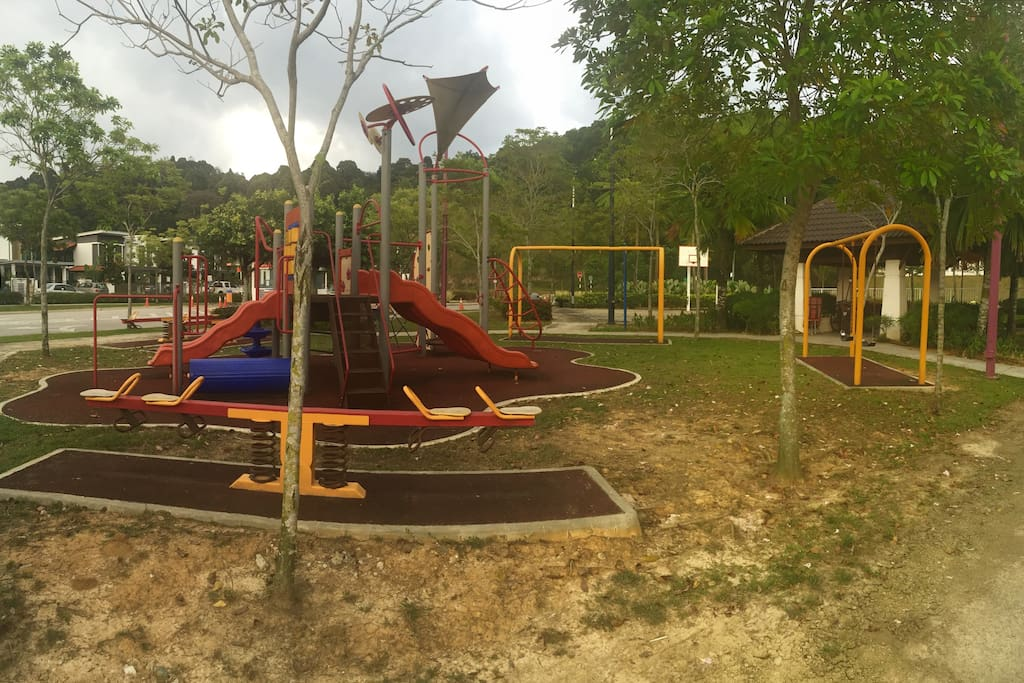 kids playground located on right side of the unit - 20 meter near