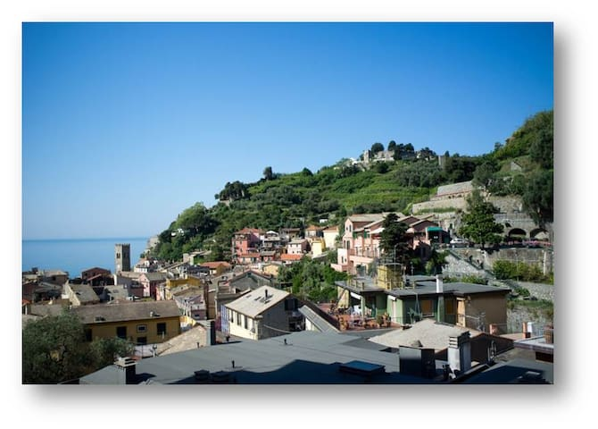 Sea-view house in historic village - Monterosso Al Mare