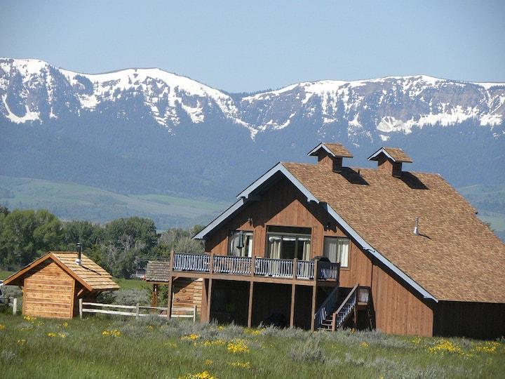 Teton Views near Yellowstone and GTNP