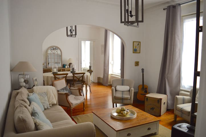 Grand Appartement Haussmannien centre-ville - Belfort - 公寓