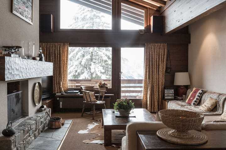 Amazing penthouse  in central Verbier.