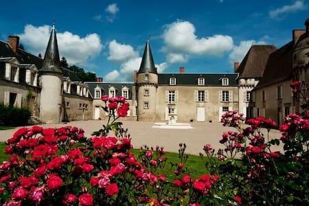 Chateau de Lalande, 'Chambre Rose' - Crozon-sur-Vauvre - Linna