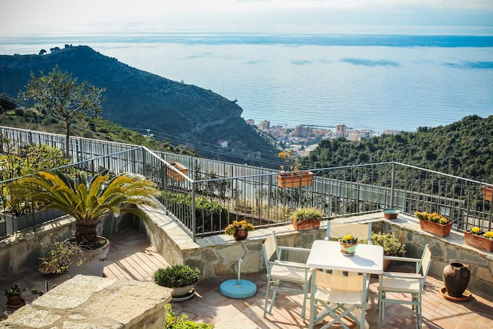 Charming apartment view Montecarlo - Camporosso - Apartment