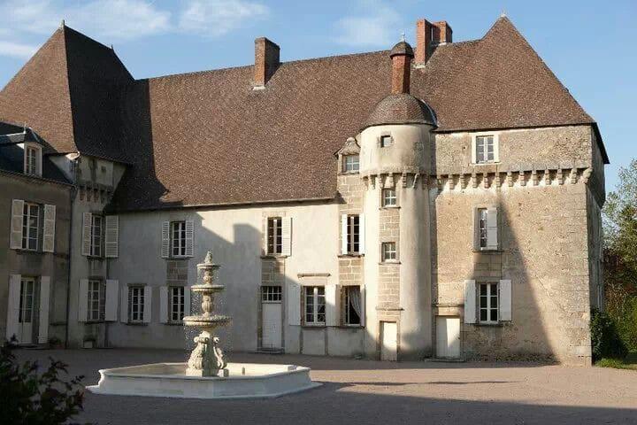 Chateau de Lalande, 'Chambre Perse' - Crozon-sur-Vauvre - Schloss
