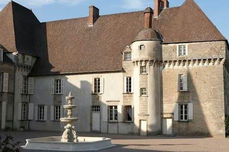 Chateau de Lalande, 'Chambre Perse' - Crozon-sur-Vauvre