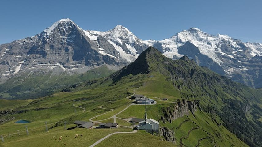 3.5-room Holiday Apartm. at the Eiger-Mountain - Grindelwald