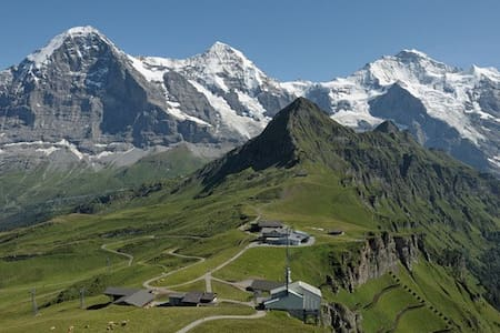 3.5-room Holiday Apartm. at the Eiger-Mountain - Grindelwald - Appartamento