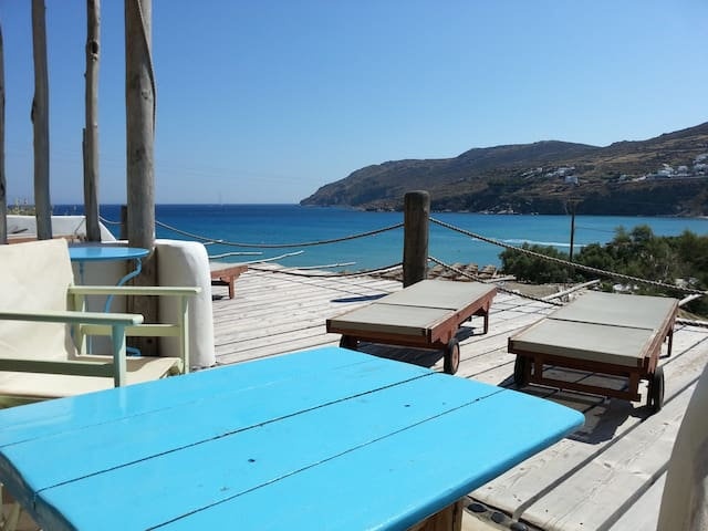 UNIQUE SPOT BY THE BEACH - 4 GUESTS - Mykonos - Bed & Breakfast