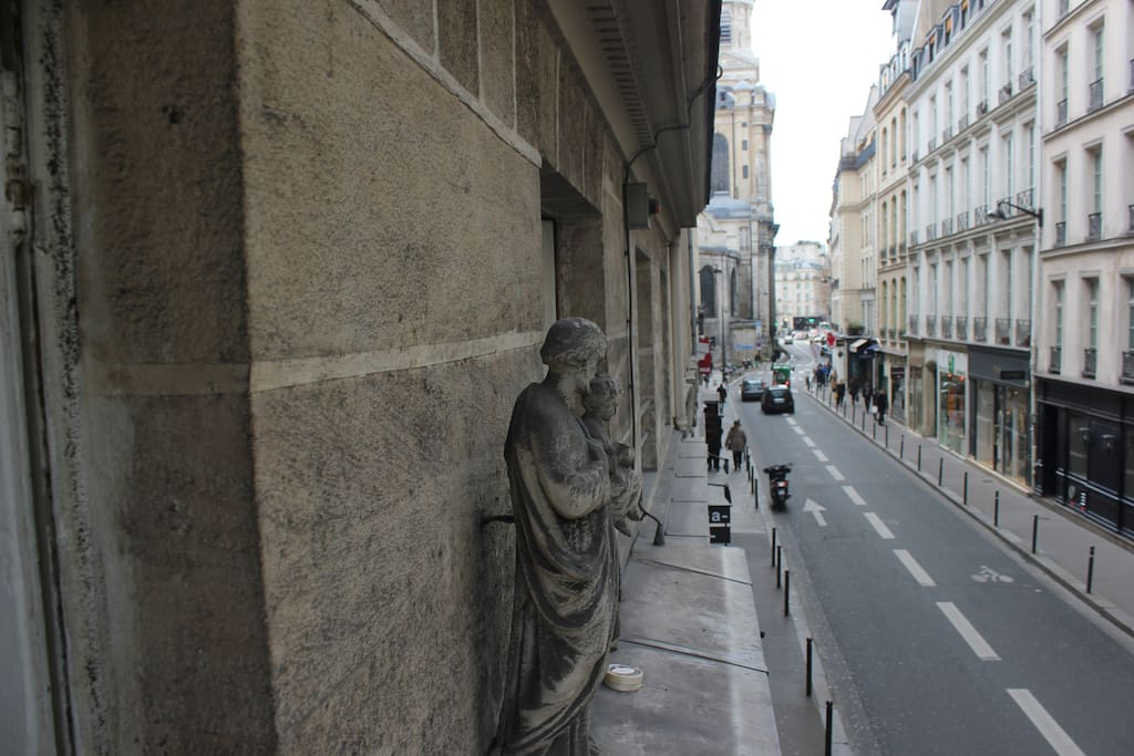 Rue Saint-Sulpice view