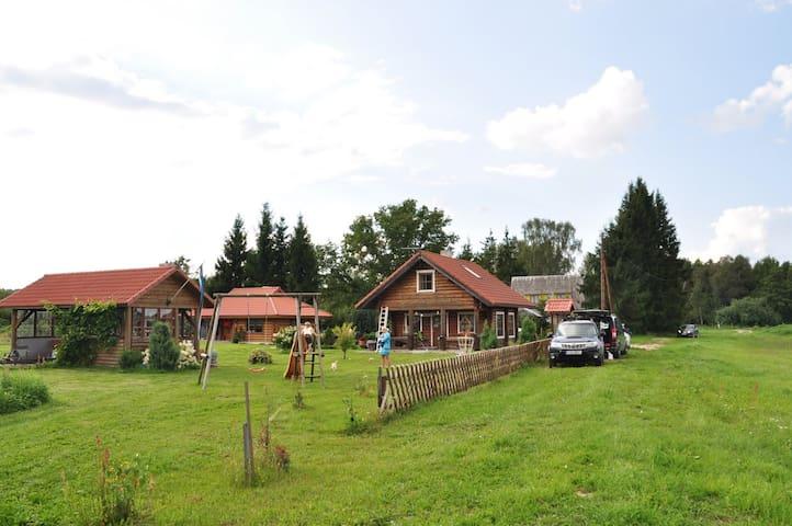 Pusila Lake house