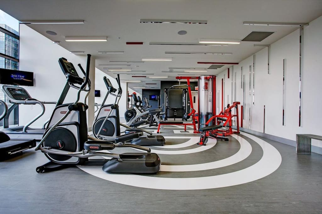 gym in the building