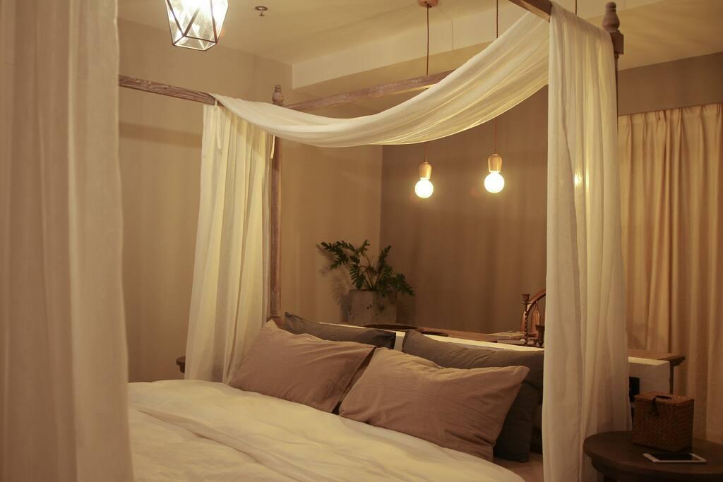 以下是卧室照片