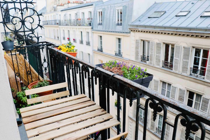 Appartement charme et lumière, Batignolles