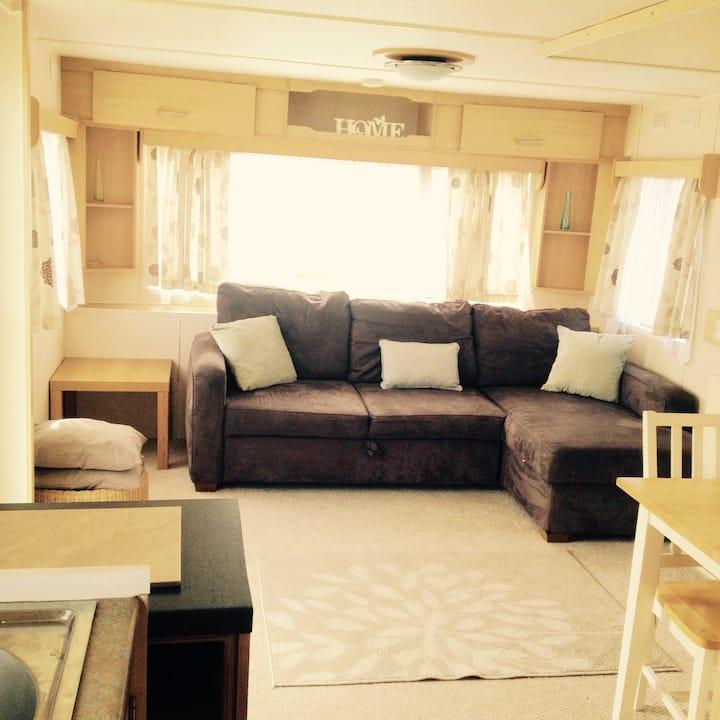 Static Caravan in Clacton to rent