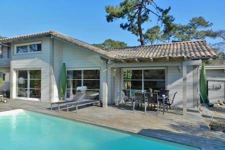 Luxury 4 Bedroom Villa with Pool - Capbreton