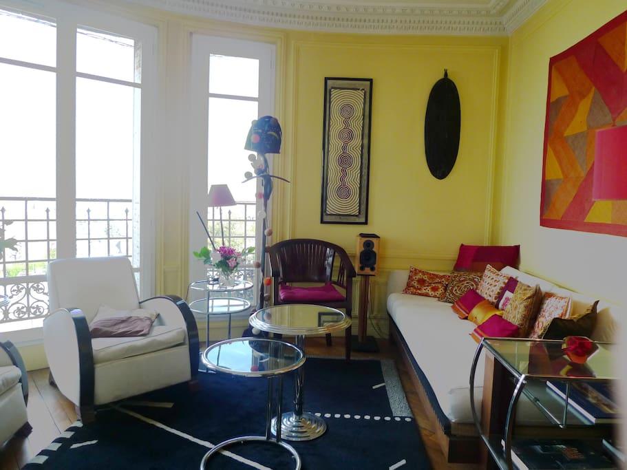 Apt. Celine - Living room right view