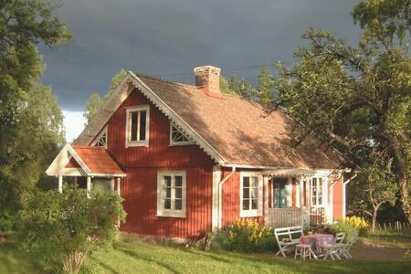 Bullerbü-Landhaus in Südschweden mit Sauna & Boot