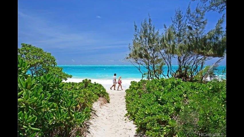 Ocean Breeze Hale - Steps to White Sand Beach