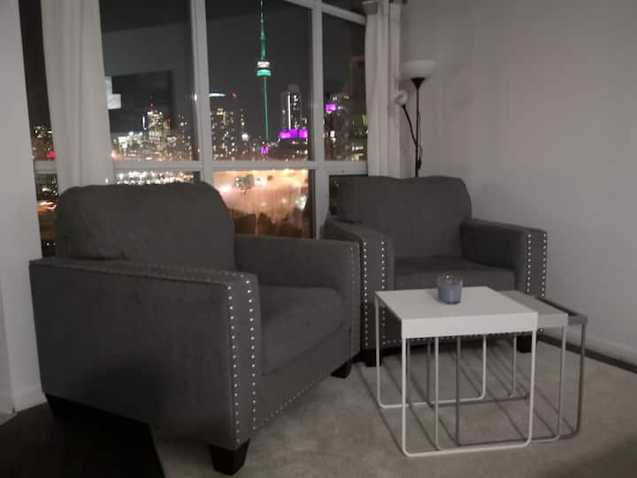 Loft with a Great view of the city