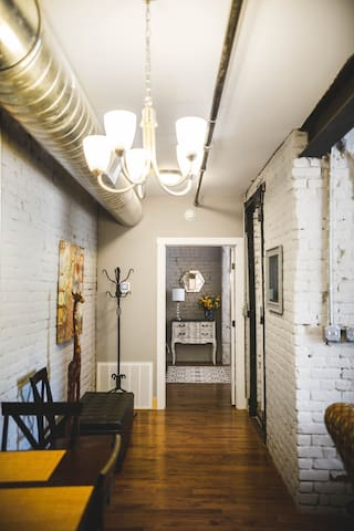 Beautiful Loft-Downtown Lynchburg - Lynchburg - Loteng Studio