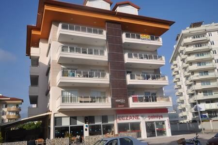Fully furnished 1+1 for a rent in Tosmur/Alanya - Tosmur Belediyesi - Daire