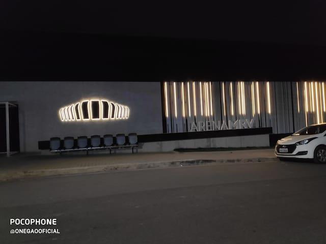 AP ao lado do estádio do Galo. Último andar