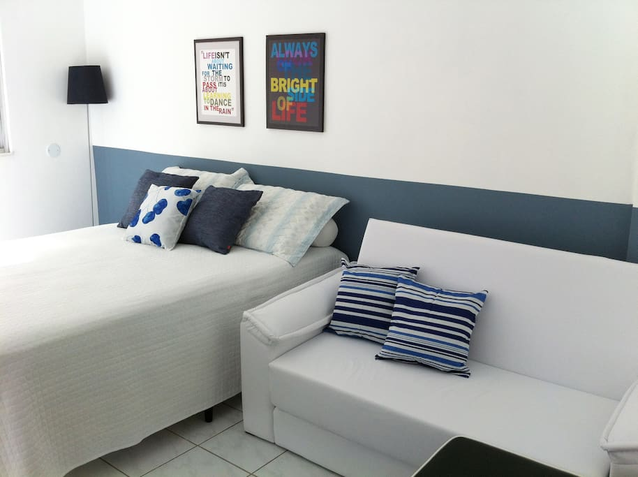 Cama de casal + sofá cama