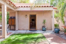 Front entrance to Casita.