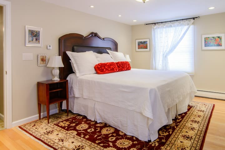 Poppy Room, SeldomSceneMeadowB&B - Richmond - Pousada