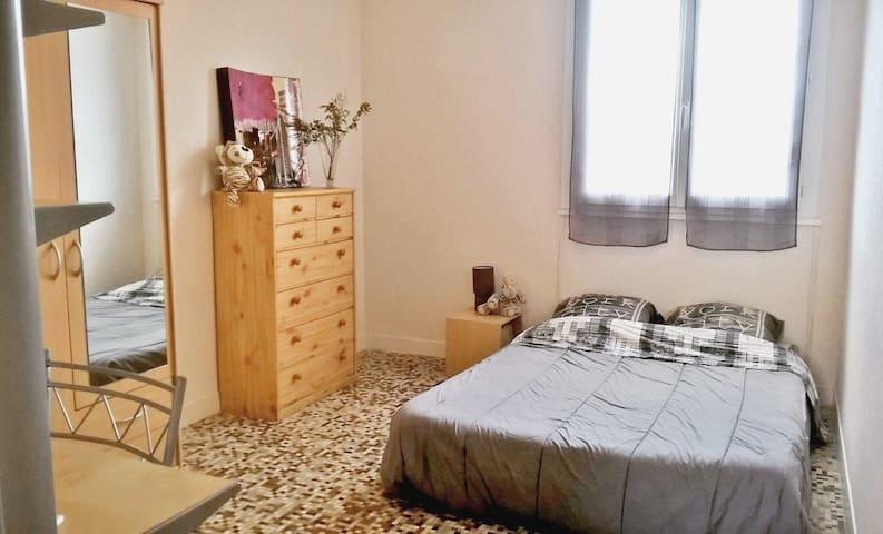 Chambre dans résidence privée avec petit déjeuné - Annonay - Apartamento