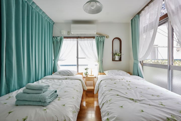 204 Cozy guest house.  In the center of tokyo. - ชินจูกุ - บ้าน