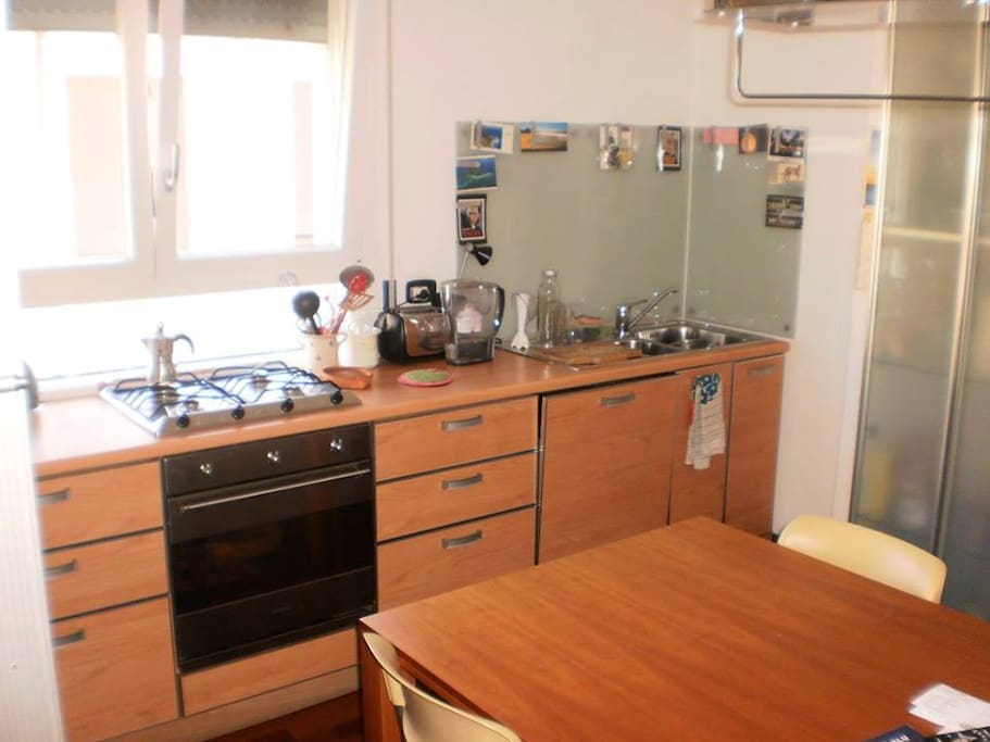 Functional and fully equipped kitchen with dish washer