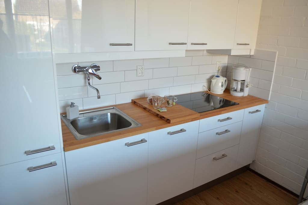 Luxe keuken met vaatwasmachine
