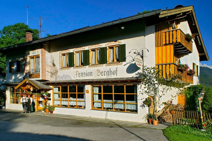 Small Hotel /Pension with breakfast, nice rooms
