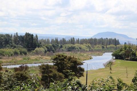 Tongariro-joen mökki