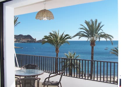 Beachfront appartment sunny & calm - Águilas