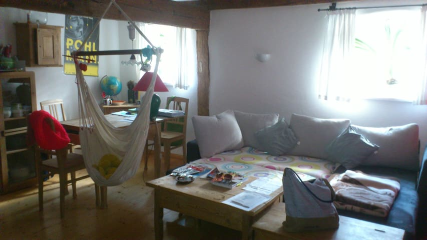 Zimmer in fränkischen Bauernhaus - Bergen