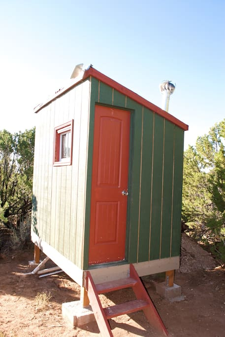 "Aptly named ""Santa's Little Crapper"". If you found that funny, the yurt already likes you:)"