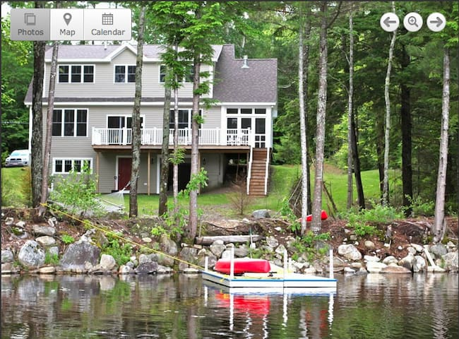New all season lakefront house on Washington Pond - Washington - House