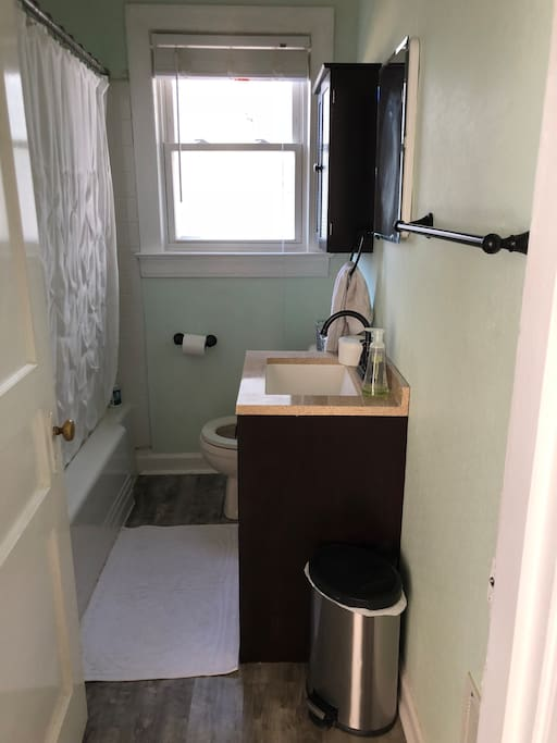 Bathroom- Small, but clean!