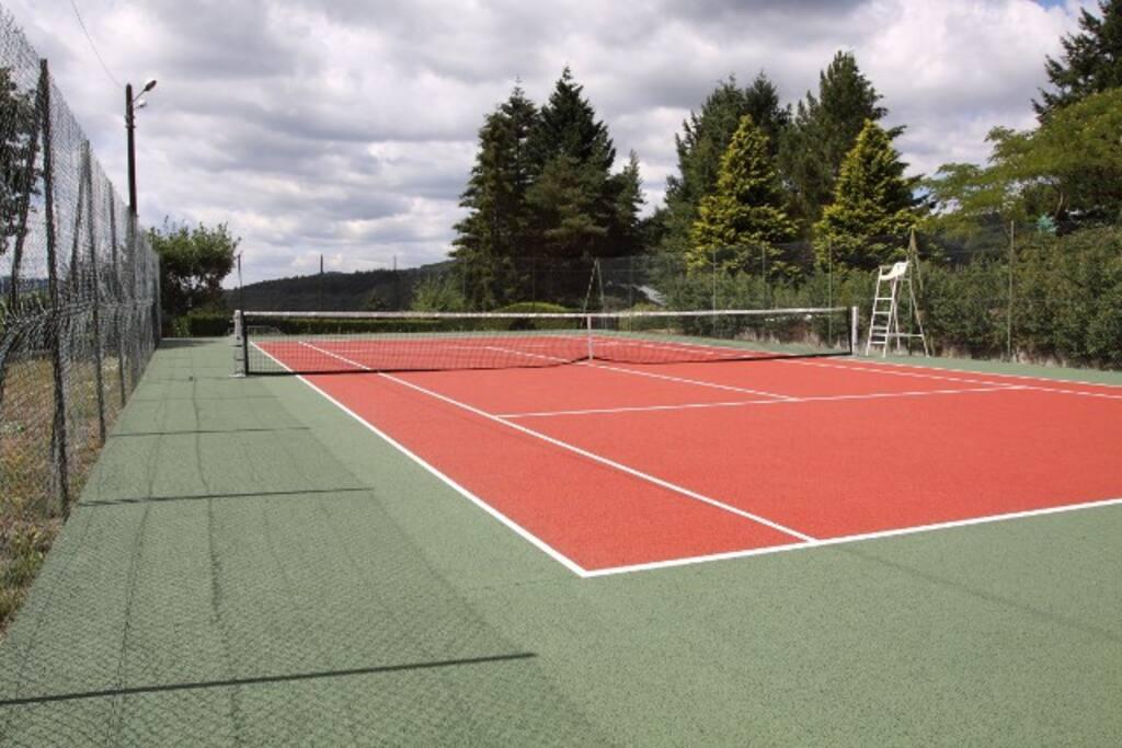 Tennis privé à LIXIRIÉ
