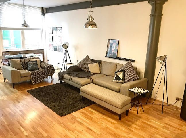 Luxury Northern Quarter Loft Style Apartment - Manchester - Apartamento