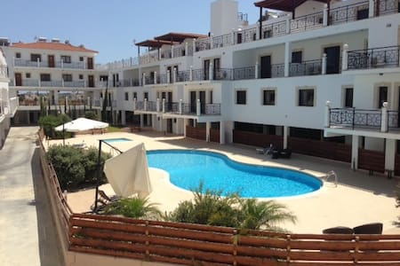 2 Double Bed Apartment W/Pool - Tersefanou