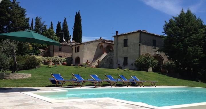 Le Borghe farmhouse (10guests)- Montalcino,Tuscany